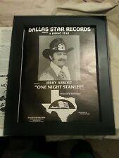 Jerry Abbott Promo Poster Ad Framed Dimebag Darrell Pantera Vinnie Paul