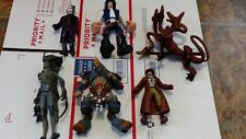 Action Figure Lot of 6 McFarlane Toys DC Comics Joker Star Wars Fodder Steampunk