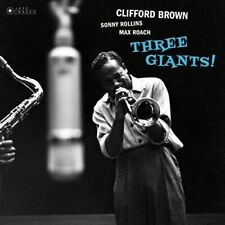 Brown- CliffordThree Giants! (New Vinyl)