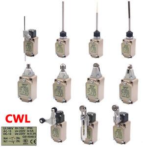 380V 10A Limit Switches Actuators CNC Adjustable Roller Plunger Arm Rod IP66 CWL