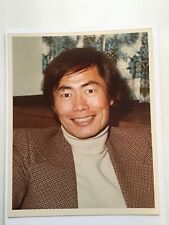 Star Trek George Takei rare vintage press photo early 1970s