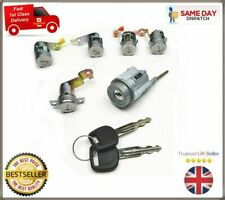 For Toyota HiAce Ignition Lock Barrel Left Right Front Rear Door Lock Set & Keys