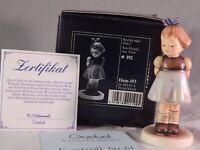 Vintage Hummel Goebel Two Hands One Treat Figurine Germany # 493