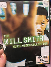 The Will Smith Music Video Collection ex-rental region 4 DVD (rare)