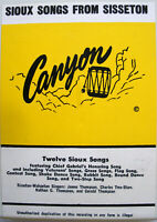 8-track Tape- 12 Sioux Songs From Sisseton- 1974 Canyon 8-6112- RARE- Wahpeton