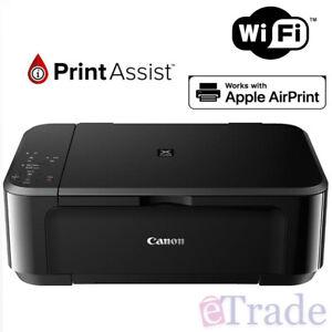 Canon MG3660BK PIXMA Colour WiFi Printer   Scanner   Copy   Photo   AirPrint