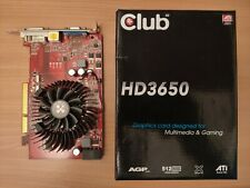 GPU Club 3D Radeon HD3650 AGP Edition - 512 Mo GDDR2