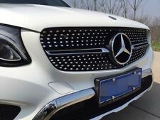 Mercedes Benz GLC X253 2016-2018 AMG front grille mesh grill vent bar