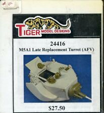 Tiger Model Designs 1:35 M5A1 Late Replacement Turret AFV Resin Detail #24416