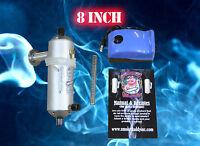 "Original Smoke Daddy 8"" Cold Smoker Generator MADE IN THE USA Hot / cold smoking"