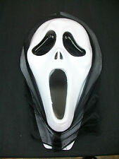 Scream Ghost Face Halloween Costume Mask Adjustment New