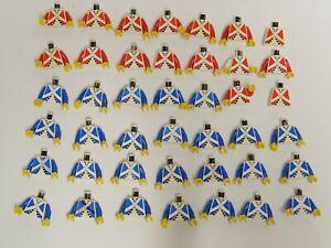Lego Piraten Konvolut Imperial Guards Torsos Soldaten B-Ware