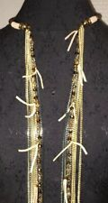 Necklace Earring Set Different Color Chains Strands