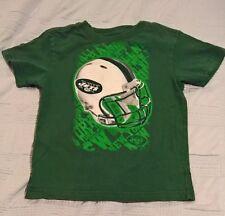 NFL Team Apparel New York Jets Boys Tee (Size M(5-6))