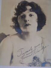 Antique Studio Photograph of Norma Talmadge Early Movie Actress
