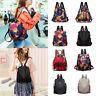 Women's Backpack Anti-Theft Rucksack Waterproof Oxford Cloth School Shoulder Bag