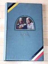 Leer Postkarten Album Franz Josef und Kaiser Wilhelm 1914 - 1916