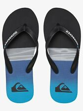 Quiksilver Men's Flip Flops Casual Athletic Beach Molokai Hold Down Multicolour