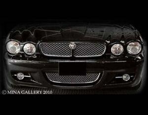 Jaguar XJ & XJR Lower Mesh Grille Assembly 08-2009 models