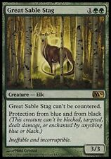 *MRM* ENG Grand Cerf-Zibeline - Great Sable Stag MTG Magic 2010-2015