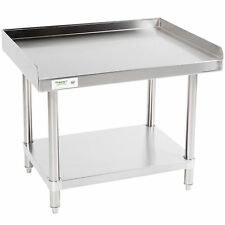 "All Stainless Steel Regency 24"" x 30"" Work Prep Table Commercial Equipment Stand"