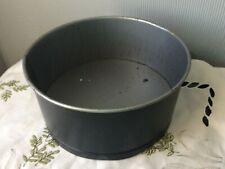 ROUND TIN PAN stampo da forno stampo VASSOIO FORNO COTTURA CUCINA PASTICCERIA piatti da forno Strumento