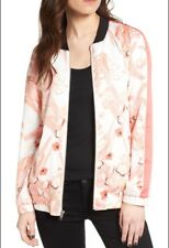 Chelsea28 satin printed bomber jacket, Size S