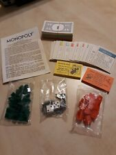Vintage 1973 Monopoly All Pieces Parts Replacement Tokens Money Houses Cards EUC