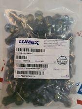 Lot Of 100 Lumex Ssi Lxh1090yd Leds