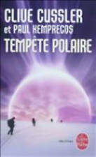 Tempete Polaire, Cussler, Clive, New, Mass Market Paperback