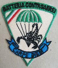 "Toppa/Patch BTR. CONTROAEREI ""STINGER"" - 185° RGT. ART. PARACADUTISTI FOLGORE"