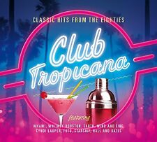 VARIOUS ARTISTS CLUB TROPICANA....CLASSIC HITS FROM THE 80'S: 3CD SET (2014)