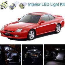 10pcs Bright White Interior LED Light Package Kit Deal For Honda Prelude 97-01