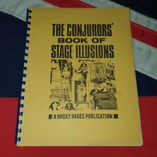Vintage Magic Tricks Instructions Plans - The Conjuror's Book of Stage Illusions