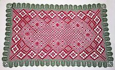 El abuelo's Garden Mat Torchon patrón de encaje de bolillos patrón de encaje de bolillos * SOLAMENTE *
