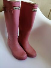 Hunter Wellies Size 5 pink authentic
