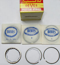 Piston Ring Set Audi Super 90 100LS 1.8 (1760cc) DEVES rings std size