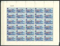 Herm island 1961 Miniature sheet 100% MNH Ship, the scenario of the port