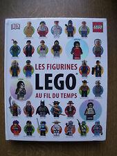 LIVRE LES FIGURINES LEGO AU FIL DU TEMPS
