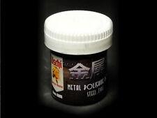 Uschi Metal Polishing powder - Steel - #4009 - for plastic model hobby