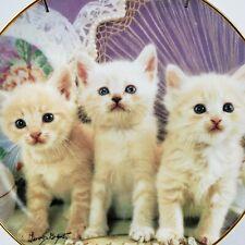Franklin Mint Heirloom Little Treasures Ltd Cat Plate no. La1543