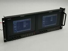 "POSTIUM PRM-902A DUAL-CHANNEL RACK MOUNT 9"" 4U VECTOR WAVEFORM MONITOR HD/SD-SDI"