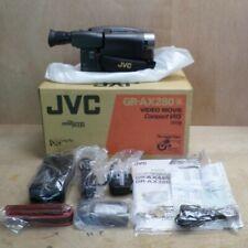 Cámara De Video JVC GR-AX280 Vhs-c Sin Usar En Caja Ver Desc Inc UK P + P