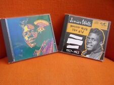 LOT 2 CD'S  JUNIOR WELLS : MESSIN' WITH THE KID + COMING AT YOU – RHYTHM N BLUES