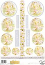 Olivers Orchard - Circle Stackers 1 A4 Sheet Love Girl Child Toppers Nature