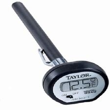 Taylor 9840 Digital Instant-Read Pocket Thermometer, White  *