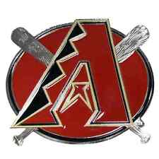 "MLB ARIZONA DIAMONDBACKS TEAM LOGO - Class III (2"") PEWTER/ENAMEL HITCH COVER"