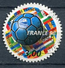 FRANCE TIMBRE OBL N° 3140  FOOTBALL COUPE DU MONDE 98
