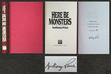 ANTHONY PRICE HERE BE MONSTERS SIGNED LIMITED ED