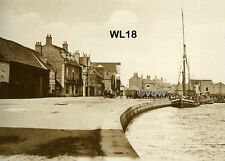 North Norfolk Postcard - Wells next the Sea - The Quay c1925 - WL18